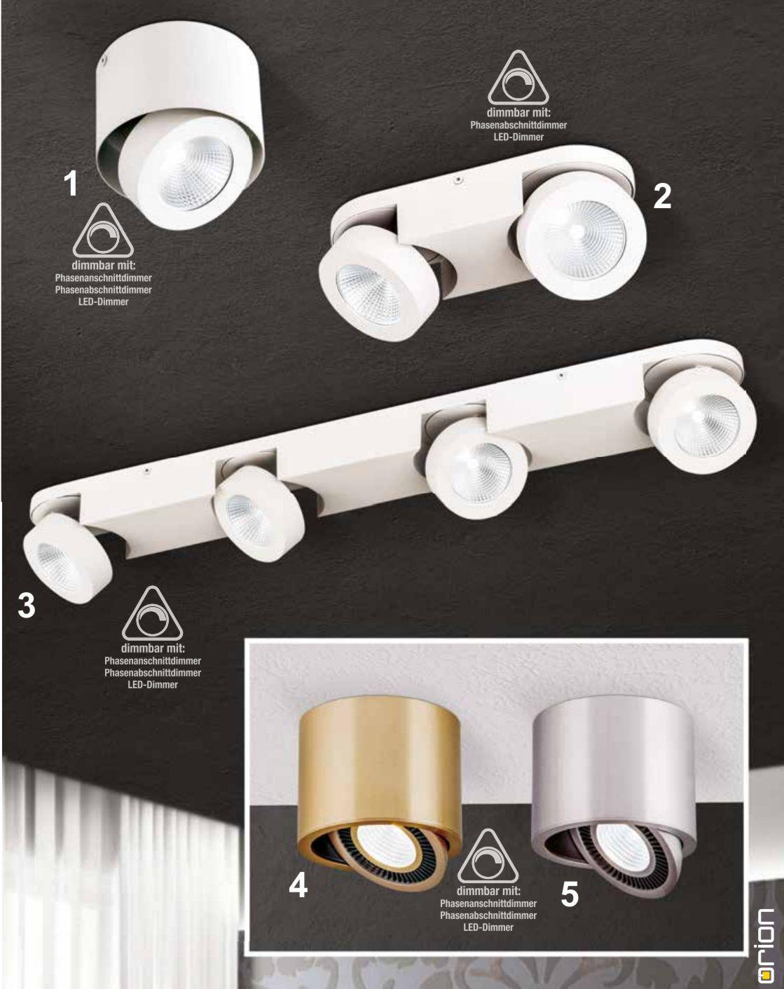 e leuchten: Strahler und Spots Meno + Luni LED Leuchten